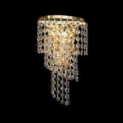 Spiral Small Gold Wall Light - CRWSPI20190GD