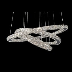 GALAXY 650 Warm White LED Crystal Pendant - LEDP1001WW