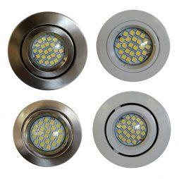 4w GU10 LED Recessed Downlight Kit