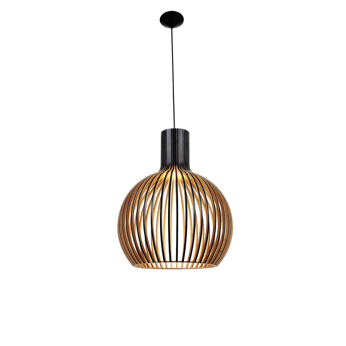 bell 1 light 460mm black pendant feature lights