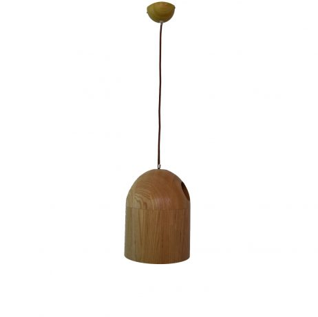 Deficit 210 Wooden Pendant Light - P1125DEF21WDN