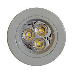GU10 LED Downlight Kit 70mm white