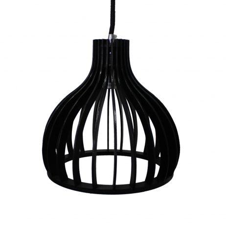 Ganto 350 Black Pendant Light - P1029GANTO350B