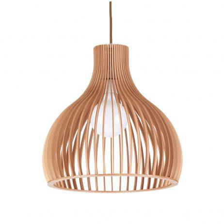 Ganto 350 Wooden Pendant Light - P1028GANTO350