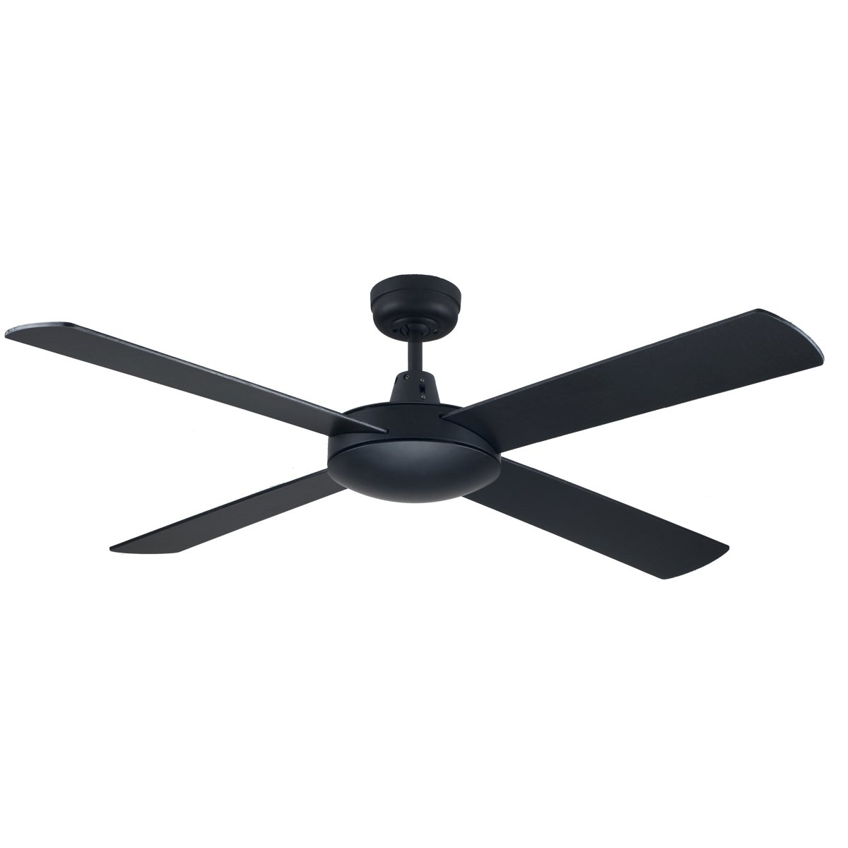 Genesis 52 Inch Ceiling Fan Black Feature Lights