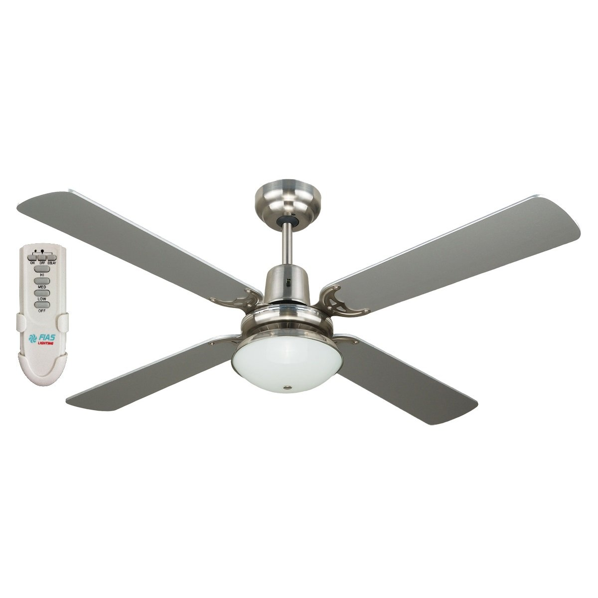 Control Ceiling Fan : Ramo inch ceiling fan with light and remote control
