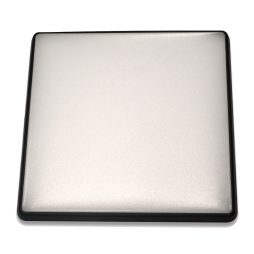 Square 28W LED Ceiling Light - Black Frame in Cool White - LEDOYS28WSQRBLCW