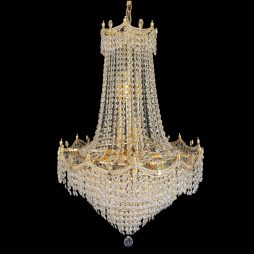 Bristol 610 Gold Chandelier - CRPBRI14610GD