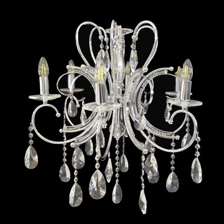 Buckingham 620 Chrome Chandelier - CRPBUC06620CH