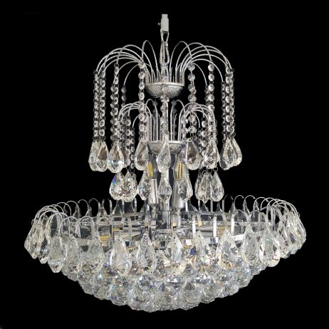 Surrey 600 Chrome Chandelier - CRPSUR10600CH