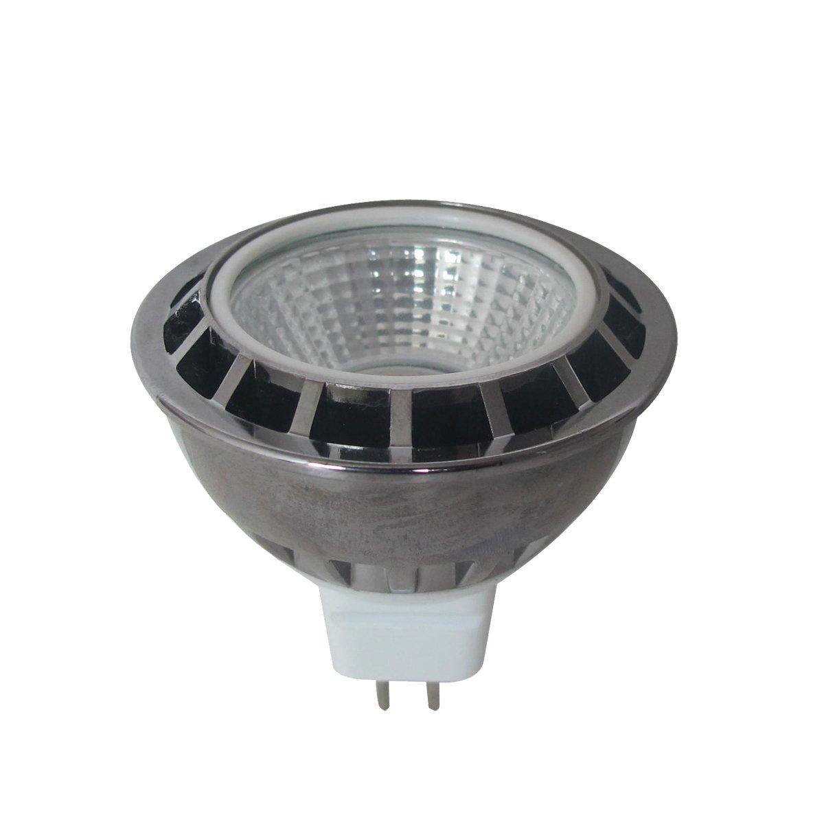5 Watt COB MR16 LED Globe in Green
