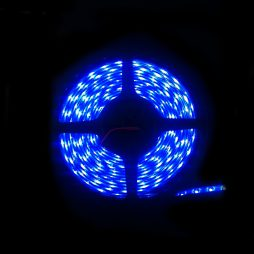 LED IP68 Strip Light 5m Blue 3528 - LEDIP68BLUE3528
