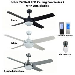 Rotor LED Ceiling fan with ABS Blades