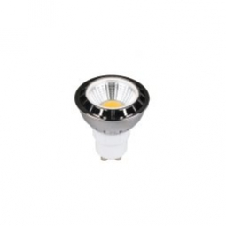 5w COB GU10 LED GREEN Globe - LEDGU10GRCOB5W